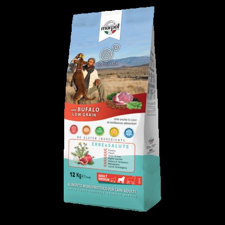 אקוליבריה - מזון יבש לכלבים בוגרים, באפלו ואורז1.5 קילו - EQUILIBRIA