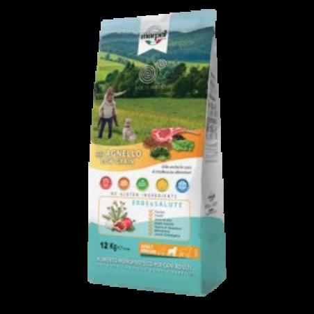 אקוליבריה - מזון יבש לכלבים בוגרים, כבש ואורז 1.5 קילו - EQUILIBRIA