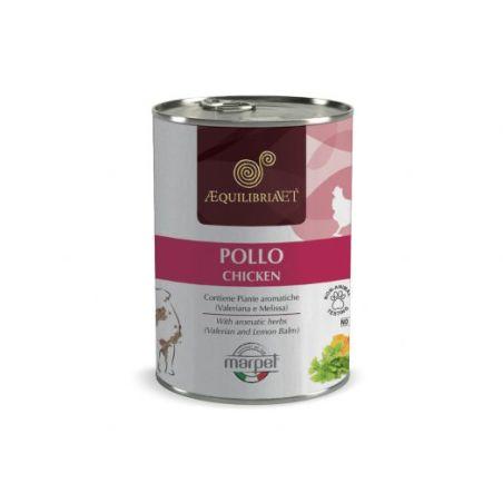 אקוליבריה/EQUILIBRIA שימורים לכלבים- 100% בשר עוף