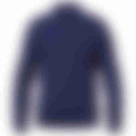 סריג 3 כפתורים Cashmere  כחול