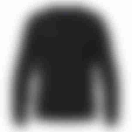 סריג V-Neck Cashmere אפור כהה