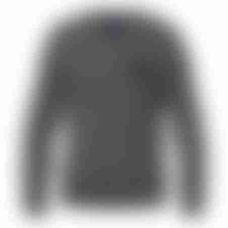סריג V-Neck Cashmere Embroidery - אפור בהיר