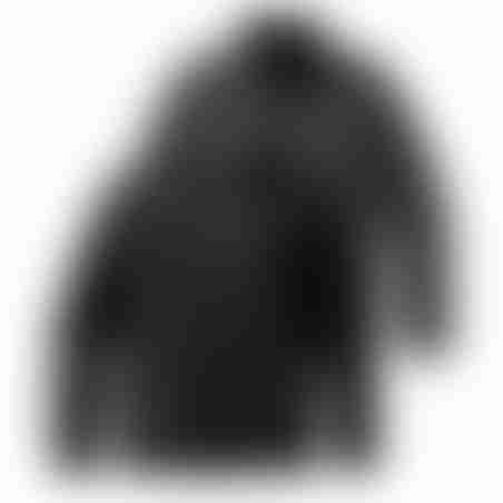 מעיל דו-צדדי - שחור/אפור