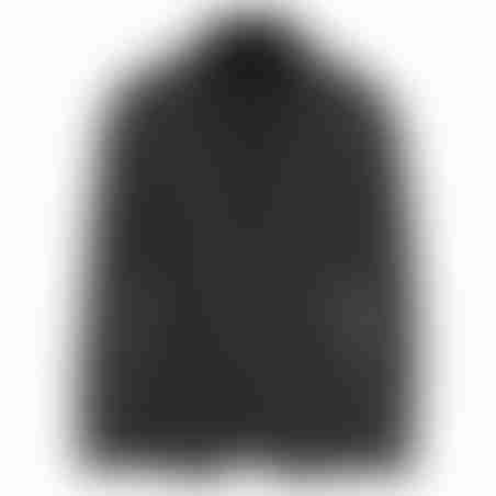 בלייזר צמר שילוב צווארון- אפור