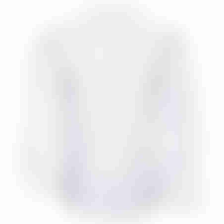 חולצת כפתורים תפר קידמי - לבן
