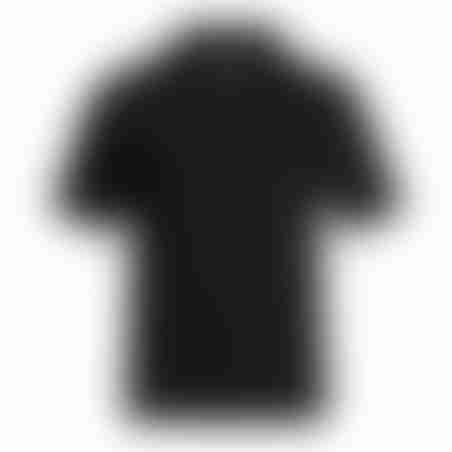 פולו קצר פרימיום- שחור