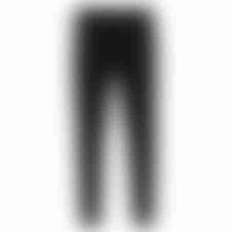 מכנסי ספורט (טרינינג) סקיני פסים דקים בצד- שחור
