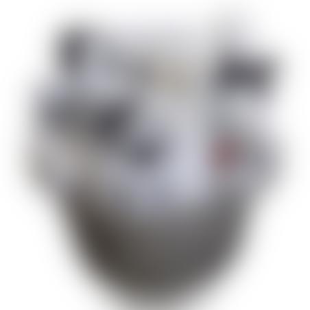 סל ארוג - מיקי מאוס שחור לבן