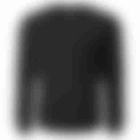 סווטשרט כיסים - שחור