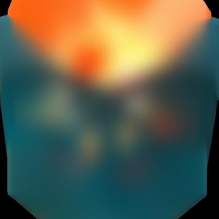 מנורת גבישי מלח דקורטיבית דוגמת פרח
