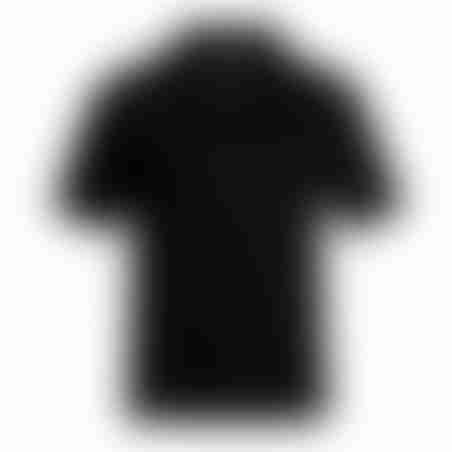 פולו קצר קלאסי - שחור