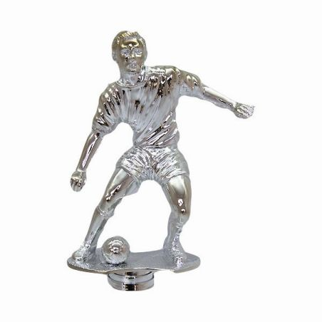 פסלון כדורגל בתנועה