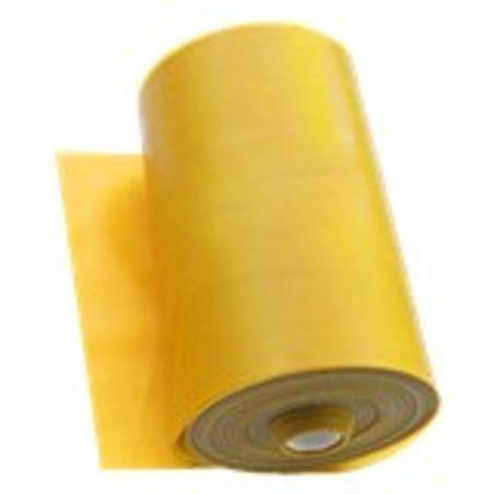 גומיית כושר טרהבנד גליל 25 מטר צהוב קושי קל- בינוני