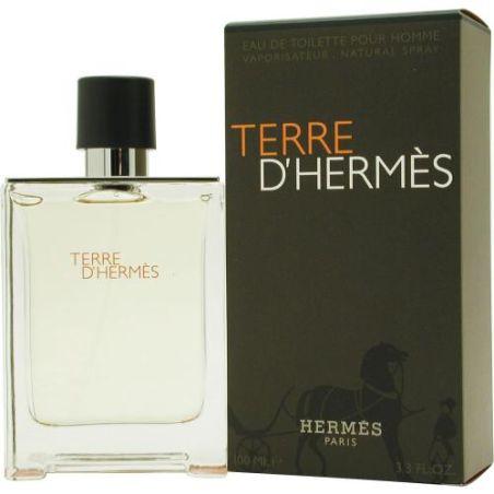בושם לגבר הרמס טר דה הרמס  Terre D Hermes EDT 100 ML