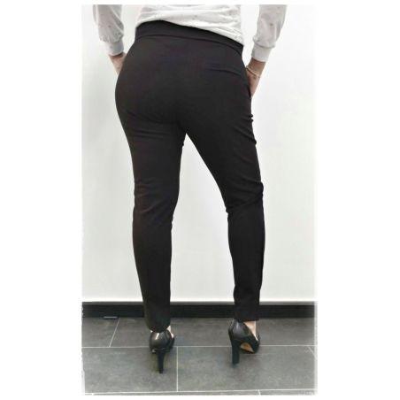 מכנס אלגנט בגזרה גבוהה- שחור
