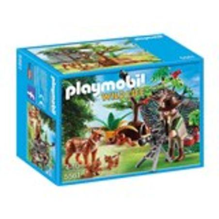 פליימוביל 5561 - משפחת חתולי בר וצלם