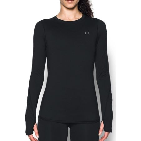 Under Armour Women's Black ColdGear Armour Crew 1298214-001