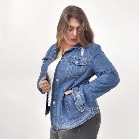 ג'קט ג'ינס- כחול