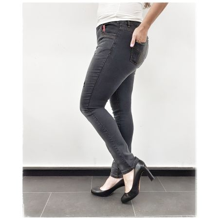 ג'ינס סקיני מחטב יוזד- שחור