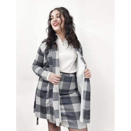 ברברי- חליפת חצאית SALE (אזל מהמלאי)