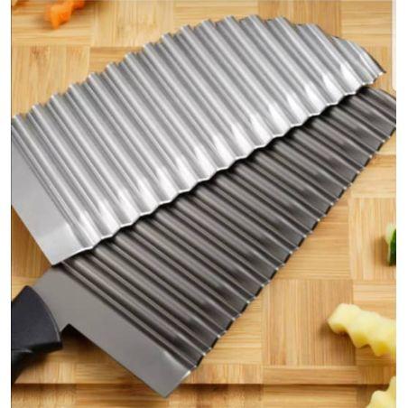 סכין זיג זג גדול איכותי