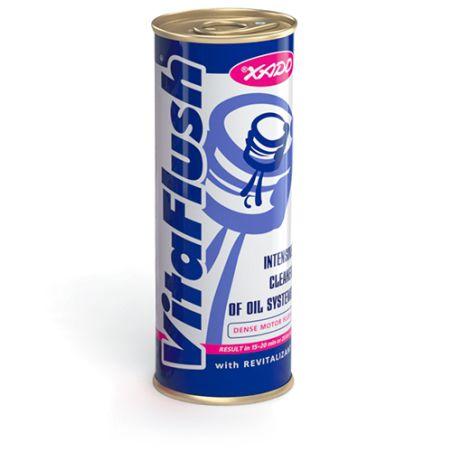 VitaFlush לשטיפה וניקוי מערכת השמן של המנוע