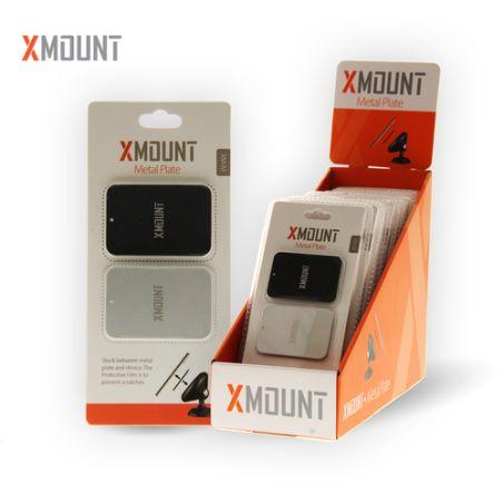 דיסקית למעמד רכב מגנטי XMOUNT Metal Plate MX-M