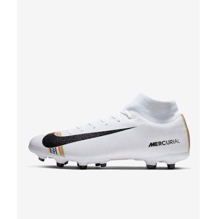 נעלי כדורגל לגבר NIKE SUPERFLYX 6 ACADEMY FG/MG AJ3541-109