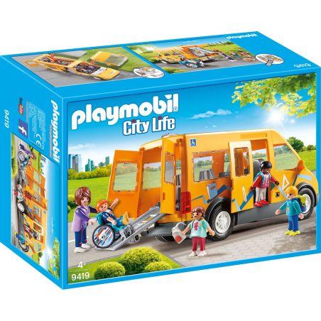 פליימוביל 9419 - רכב הסעות לבית הספר