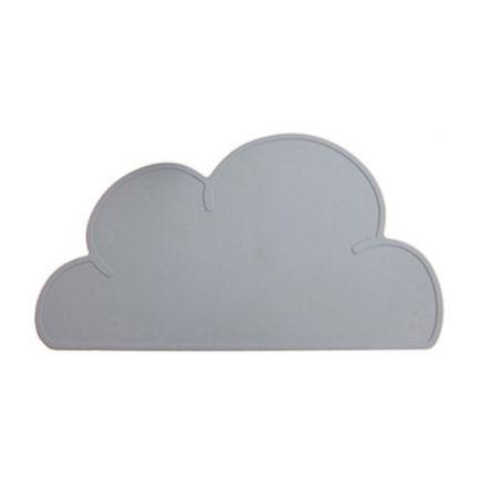 תחתית לצלחת - ענן אפור