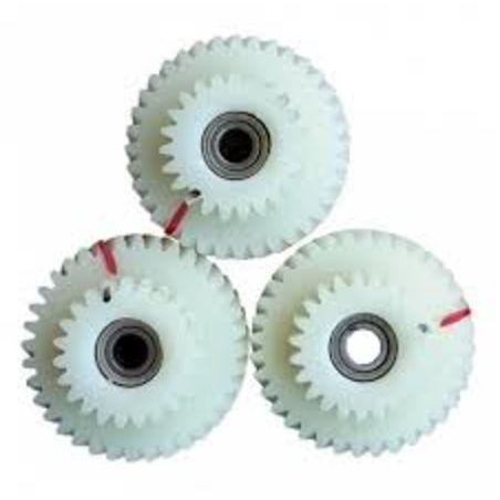 3 גלגלי שיניים לגיר כפול של אופניים חשמליים באגי בייק Bagi Bike