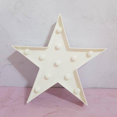 מנורת לילה - כוכב לבן