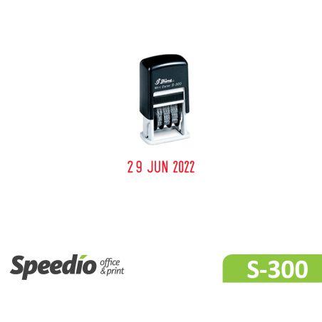 חותמת תאריכון קפיצית דגם Shiny Printer S300