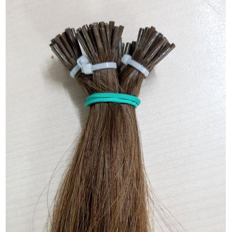 יח שיער איטלקי (אירופאי) בשיטת החרוזים