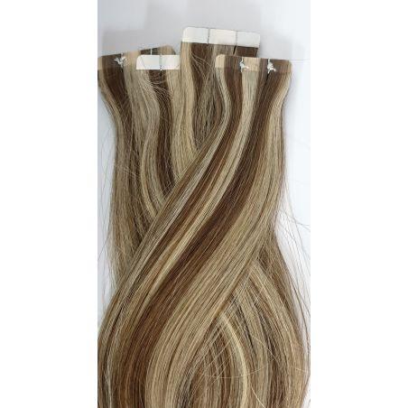 שיער איטלקי (אירופאי) בשיטת המדבקות