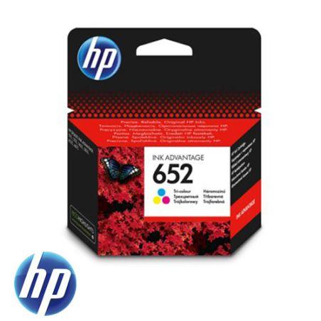 ראש דיו צבעוני מקורי 652  HP