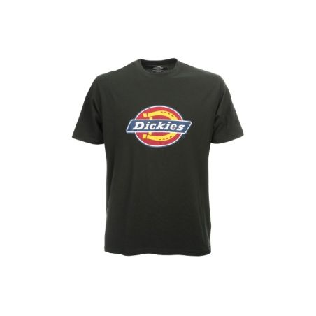 Dickies - טי שירט לוגו קלאסית בשחור