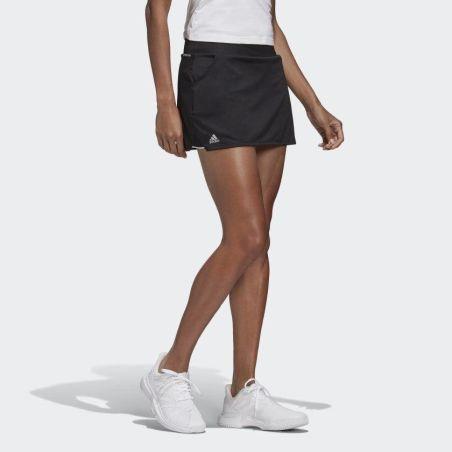 חצאית משולבת טייץ אדידס לנשים Adidas Club Skirt