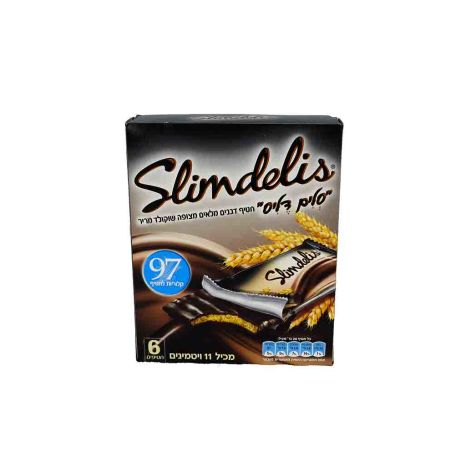 מרבה סלים דליס שוקולד מריר - 20 גרם 6x יחידות