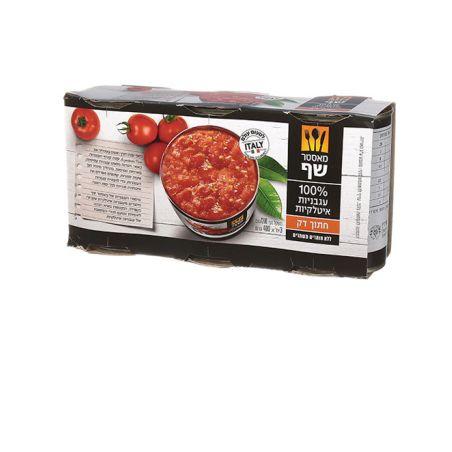 מאסטר שף עגבניות קצוצות שלשה - כשל