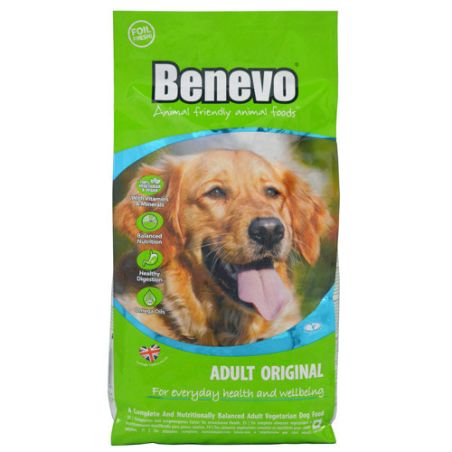 BENEVO מזון טבעוני לכלבים