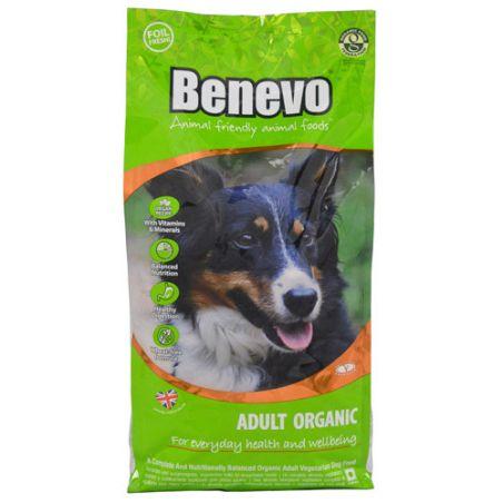 BENEVO מזון טבעוני ואורגני לכלבים