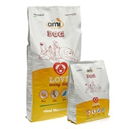 AMI מזון טבעוני לכלבים