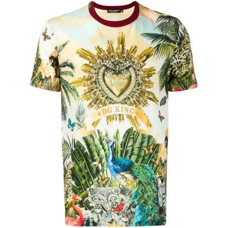 DOLCE & GABBANA - T-shirt multicolored