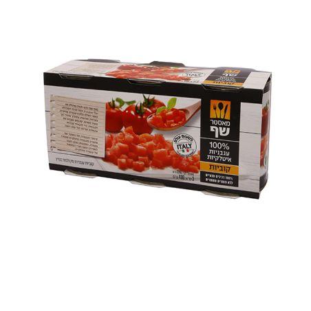 מאסטר שף עגבניות קוביות שלשה