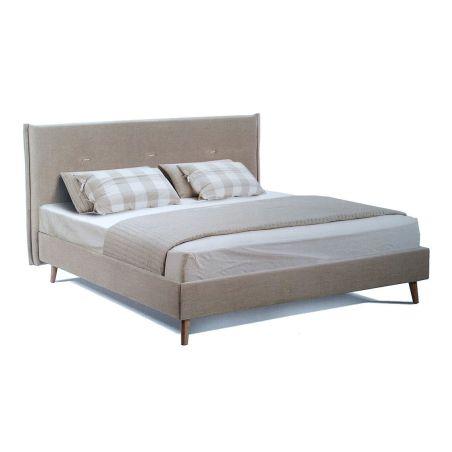 מיטה זוגית מרופדת <b>וידר</b> רונדה 1