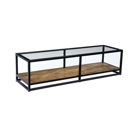 שולחן סלון/מזנון שילוב זכוכית f