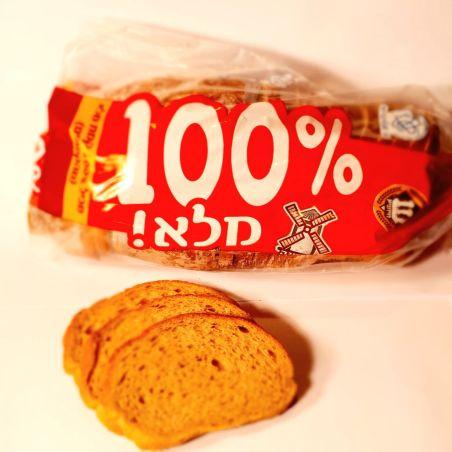 לחם מלא 100%