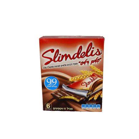 מרבה סלים דליס שוקולד חלב - 20 גרם 6x יחידות