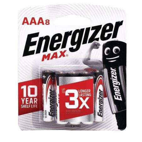 Energizer סוללות מקס 1X8 AAA